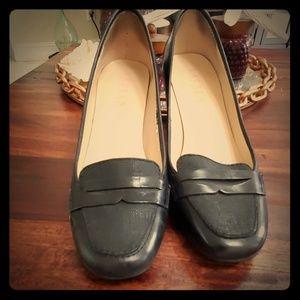 Lauren Ralph Lauren Low Heel - Black Leather